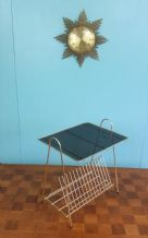 French side table & magazine rack - SOLD